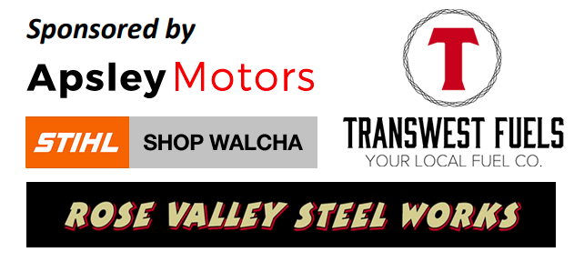 sponsors/Apsely Motors/STIHL SHOP WALCHA/Transwest Fuels/Rose Valley Steel Works